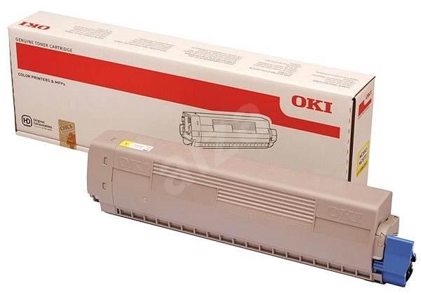 OKI 45862837 žltý - Toner