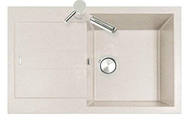 Sinks AMANDA 780 Avena - Granitový drez