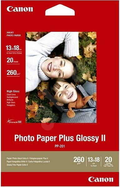 Canon papier PP-201 13 x 18 cm - Fotopapier. 1× d81e469698b