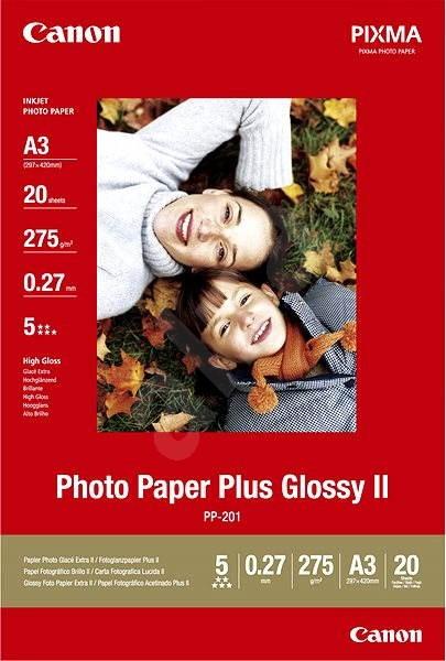 Papiere Canon PP-201 A3 lesklé - Fotopapier
