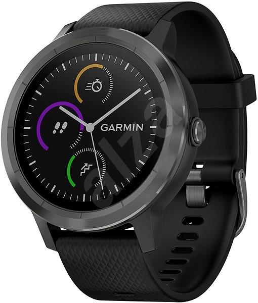 Garmin vívoactive 3 Black Slate PVD - Smart hodinky