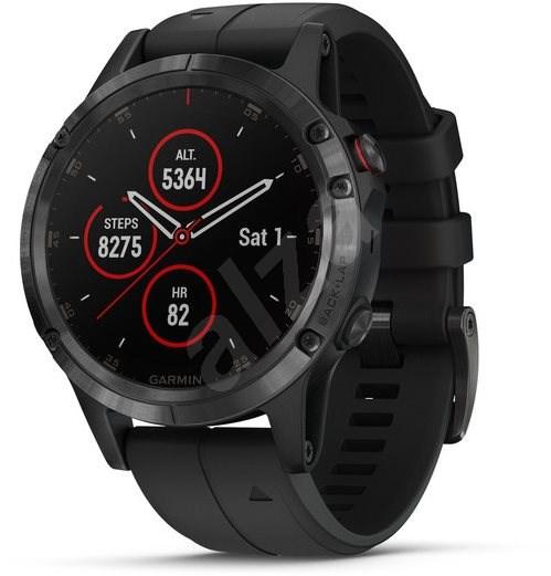 Garmin Fenix 5 Plus Sapphire Black Optic Black Band - Smart hodinky ... 0503252ecc5