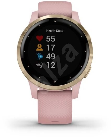 Garmin vívoactive 4S LightGold Pink - Smart hodinky