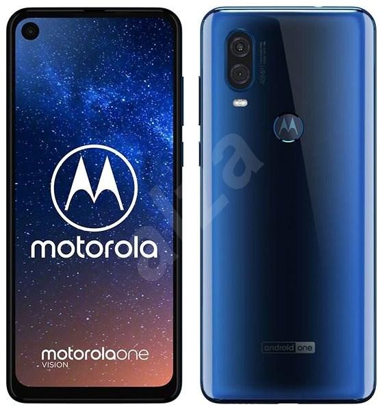 Motorola One Vision modrá - Mobilný telefón