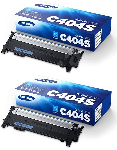 Samsung CLT-C404S azúrový 2 ks - Toner