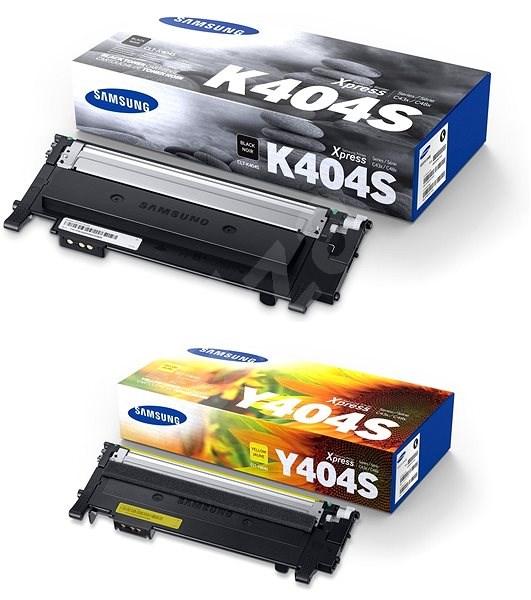 Samsung CLT-K404S čierny + CLT-Y404S žltý - Toner