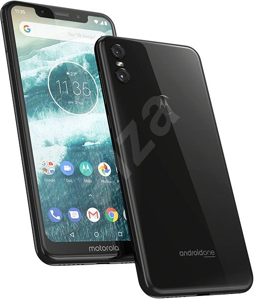 Motorola One Dual SIM čierna - Mobilný telefón