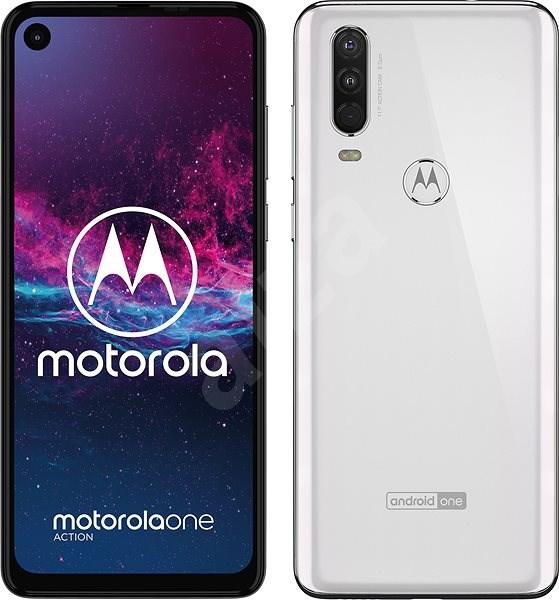 Motorola One Action biela - Mobilný telefón