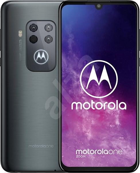 Motorola One Zoom sivá - Mobilný telefón