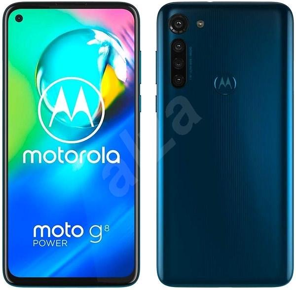 Motorola Moto G8 Power modrý - Mobilný telefón