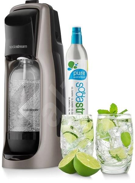 SodaStream Jet Premium titan - Výrobník sódy