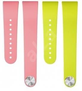 Sony SWR310 Wrist Strap pre SmartBand Talk veľ. L Pink Lime - Remienok