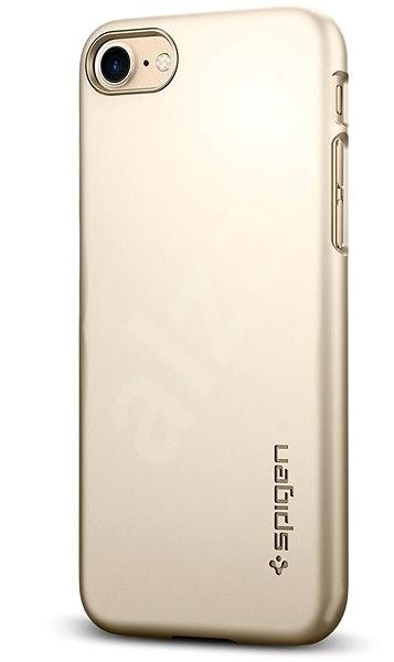 Spigen Thin Fit Gold iPhone 8 - Ochranný kryt  42dfe0d539e