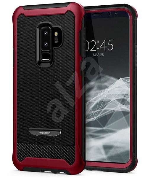 Spigen Reventon Metallic Red Samsung Galaxy S9+ - Kryt na mobil