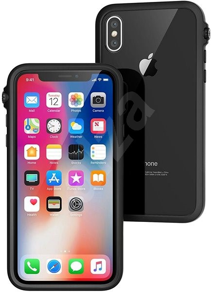 Catalyst Impact Protection Case Black iPhone X - Ochranný kryt  415e575bbf8