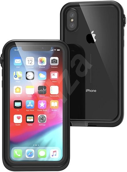 Catalyst Waterproof case Black iPhone XS - Puzdro na mobil