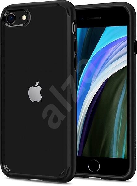 Spigen Ultra Hybrid 2 Black iPhone 7 8 - Kryt na mobil 0fc87352480
