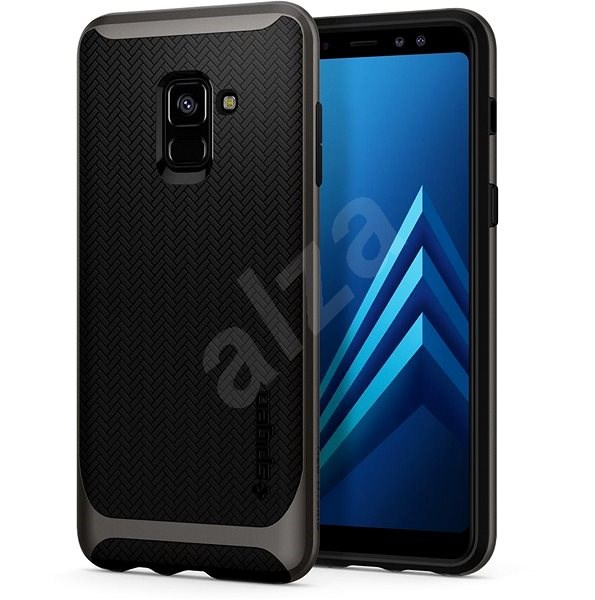 Spigen Neo Hybrid Gunmetal Samsung Galaxy A8 (2018) - Kryt na mobil