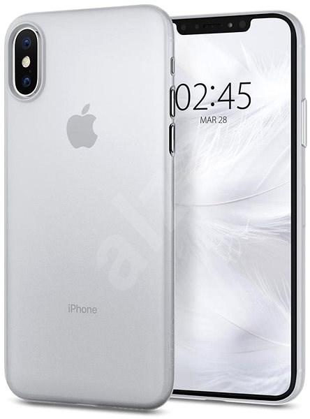 Spigen Air Skin Clear iPhone XS X - Kryt na mobil  c90c73e6d7f