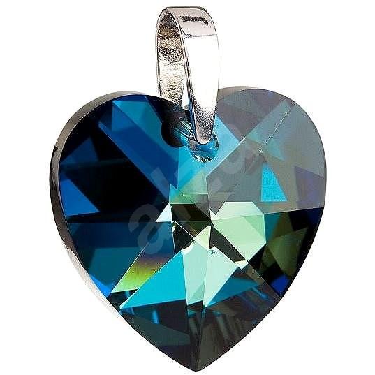 Bermuda blue prívesok zdobený kryštálmi Swarovski 34004.5 (925 1000 ... dc68f8647a5
