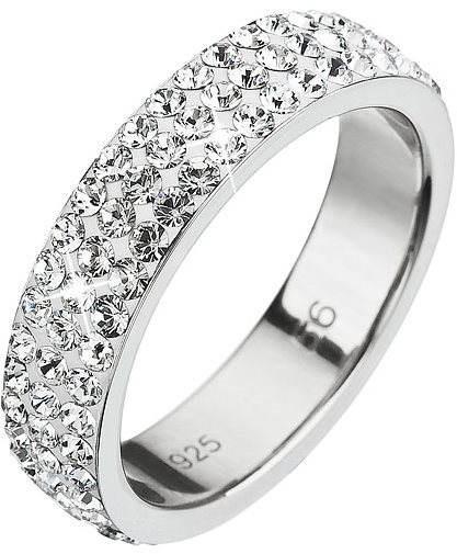 Prsteň dekorovaný kryštálmi Swarovski Krystal 35001.1 (925 1000  2 d996c962a47