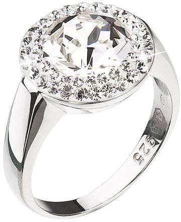Prsteň zdobený kryštálmi Swarovski Krystal 35026.1 (925 1000  4 694f94d2829