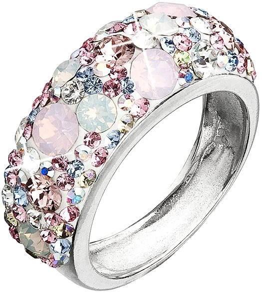 Prsteň dekorovaný krištáľmi Swarovski Magic rose 35031.3 - Prsteň ... 69628de7491