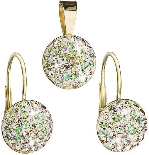 Swarovski Elements Luminous green (925 1000  2 g) - Darčeková sada šperkov dccd8a79cf7