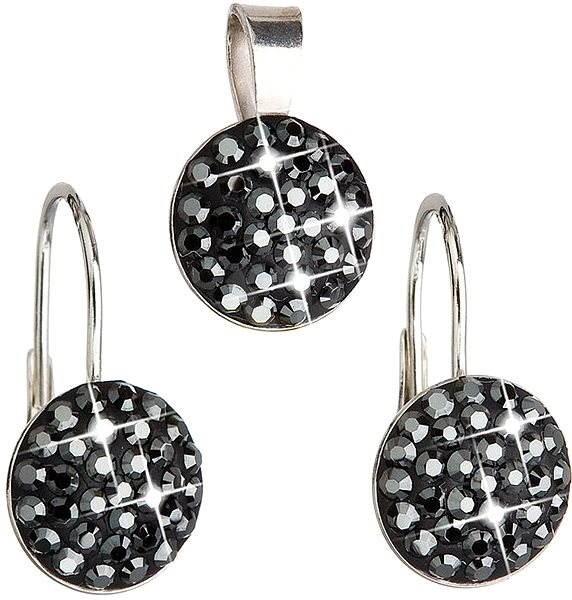 Hematitu súprava vyrobená s kryštálmi Swarovski ® 39086.5 - Darčeková sada  šperkov 66f9ae690f9