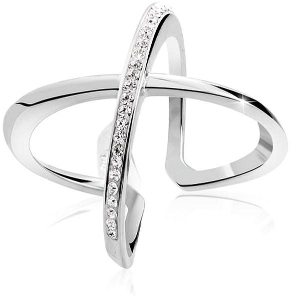 aad65da4e JSB Bijoux Strieborný prsteň Kríž Extramix - Prsteň | Trendy