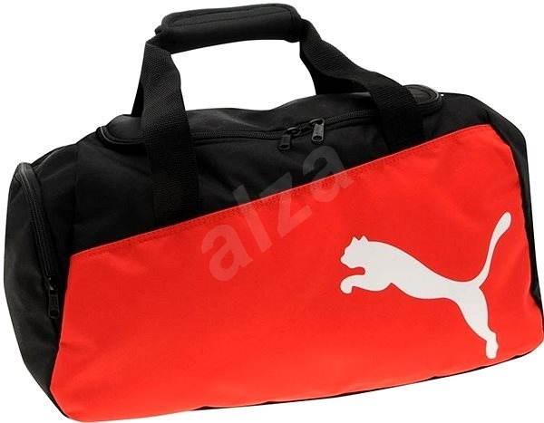35e4d1b97 Puma Pro Training stredná taška black-puma červená-w - Športová taška