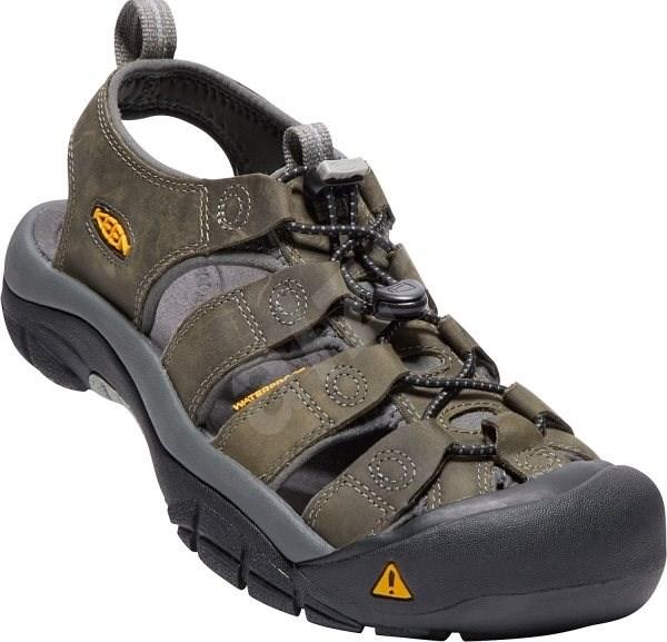 Keen Newport neutral gray/gargoyle 10,5 - Sandále