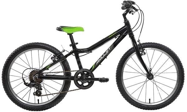ed9e23f6c Amulet Tomcat 20 Superlite čierny - Detský bicykel 20