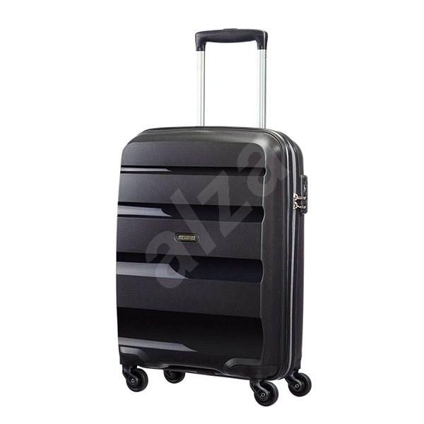 44febe059ff American Tourister Bon Air Spinner Black, veľkosť S - Cestovný kufor s TSA  zámkom