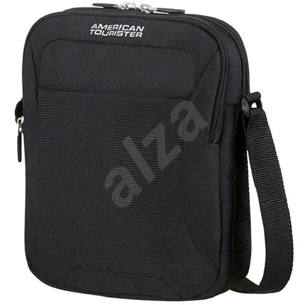 386870e2de American Tourister Road Quest Crossover Solid Black - Taška cez rameno