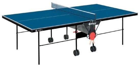 Sponeta S1-12i – modrá - Pingpongový stôl