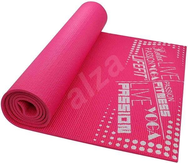 LifeFit Slimfit gymnastická svetlo ružová - Podložka