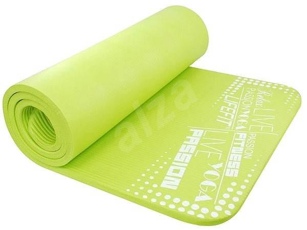 LifeFit Yoga Mat Exkluziv svetlo zelená - Podložka na cvičenie
