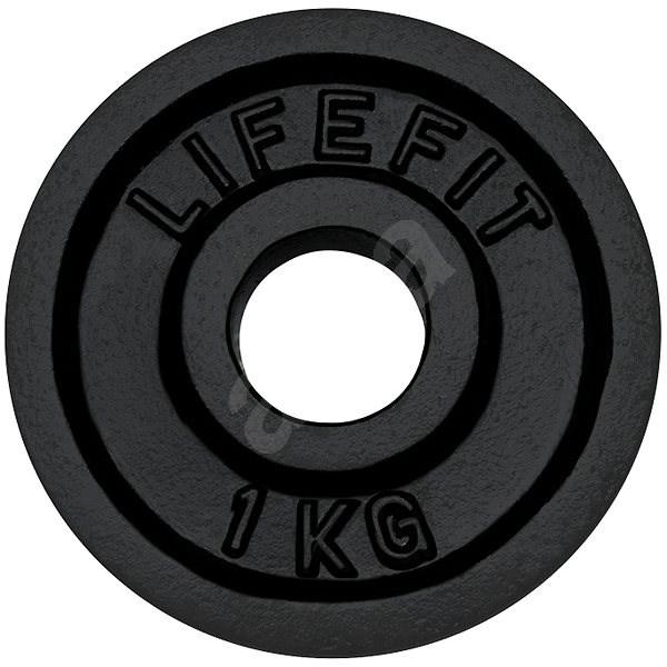 Kotúč Lifefit 1 kg/tyč 30 mm - Závažie na činky