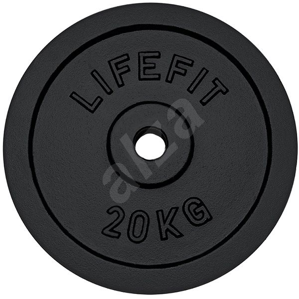 Kotúč Lifefit 20 kg / tyč 30 mm - Závažie na činky