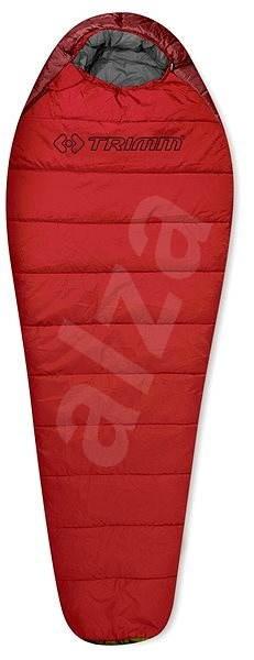 Trimm Walker 195 ľavý red/dark red - Spací vak