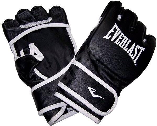 a4be8d650 Everlast MMA graplingové rukavice kožené S/M - Boxerské rukavice ...