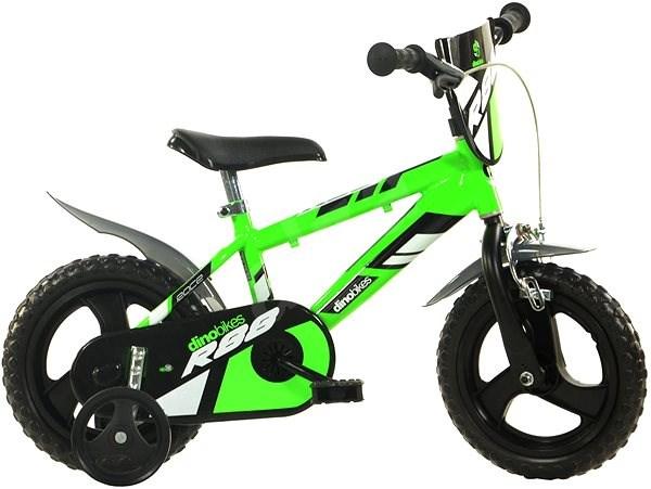 fd2da4c97bc39 Dino bikes 12 green R88 - Detský bicykel 12