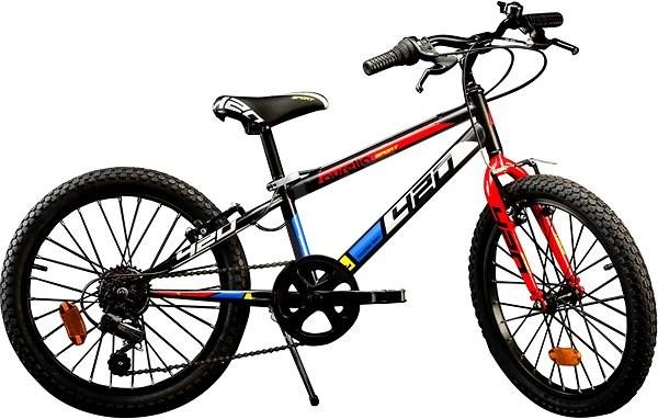 49df3a35c Dino Bikes 20 black (2016) - Detský bicykel 20
