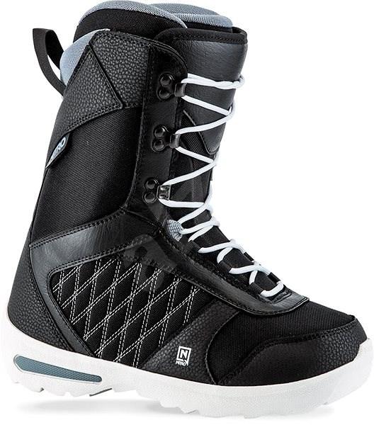 Nitro Flora TLS Black 240 - Topánky na snowboard