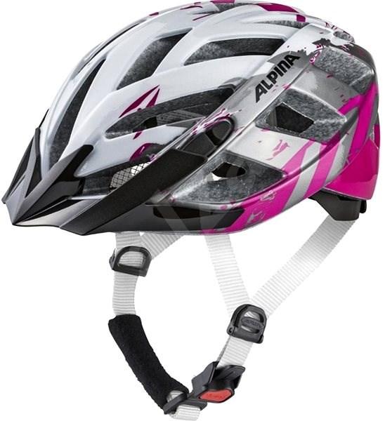 Alpina Panoma 2.0 bielo-ružová M - Prilba na bicykel