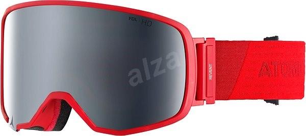 Atomic Revent L FDL HD Red - Lyžiarske okuliare  0dc5a142e7c