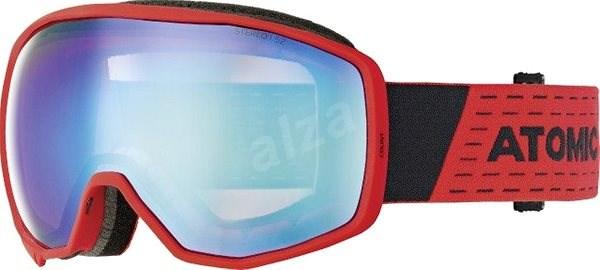 Atomic Count Stereo Red - Lyžiarske okuliare