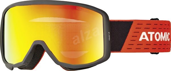 c1daf465f Atomic Count Jr Cylindrical Black/Red - Lyžiarske okuliare | Alza.sk