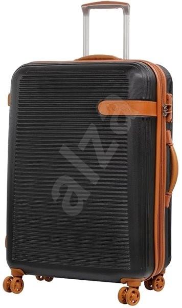 6af33943b2d62 Rock Valiant TR-0159/3-L ABS – čierna - Cestovný kufor s